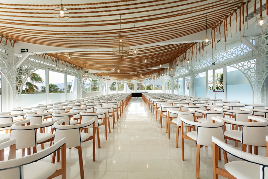 Montaje de salón para congreso en Motril