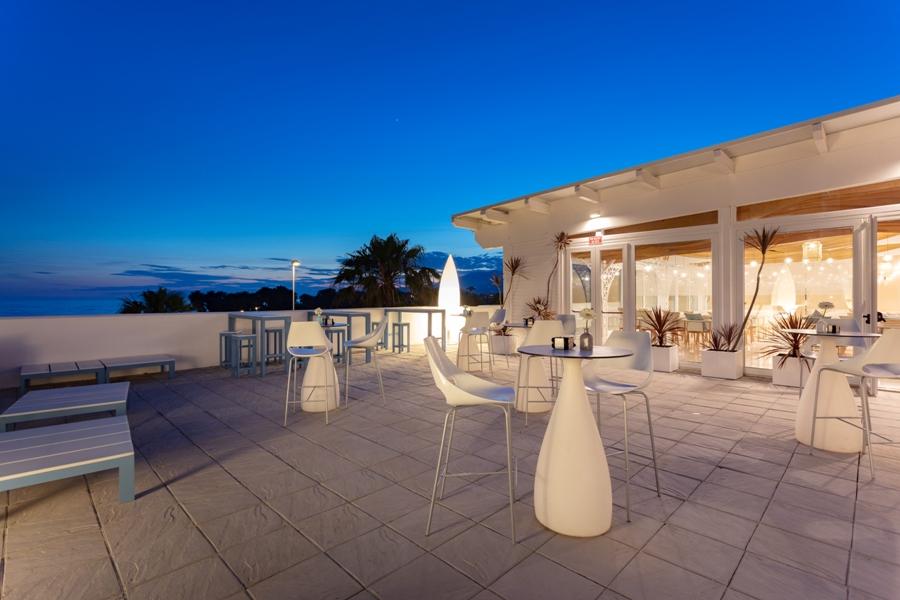 Terraza de Mirador Playa Granada