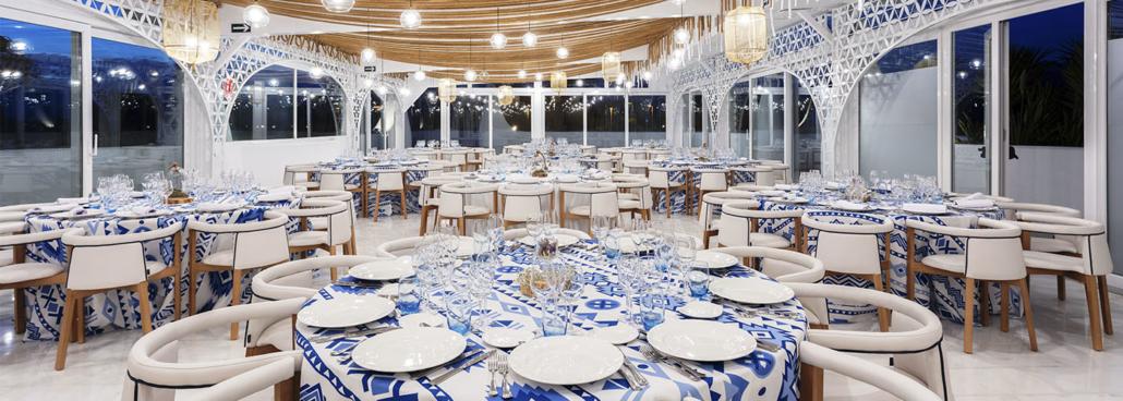 Salón para eventos en Mirador Playa Granada