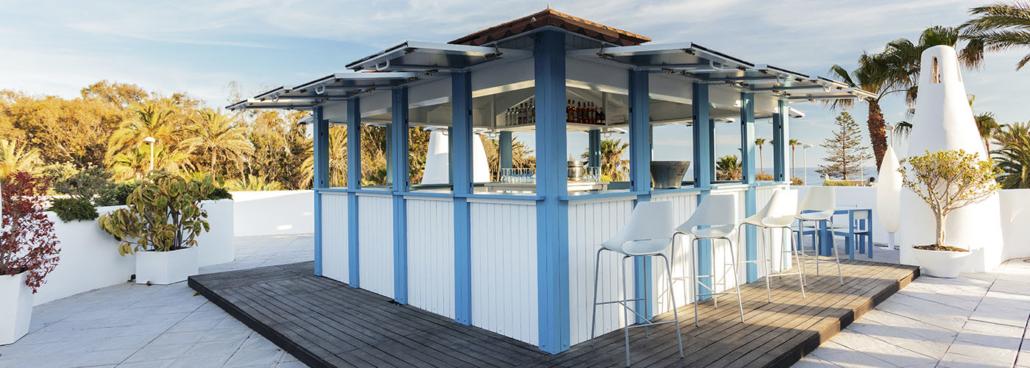 Kiosko para eventos al aire libre en Motril