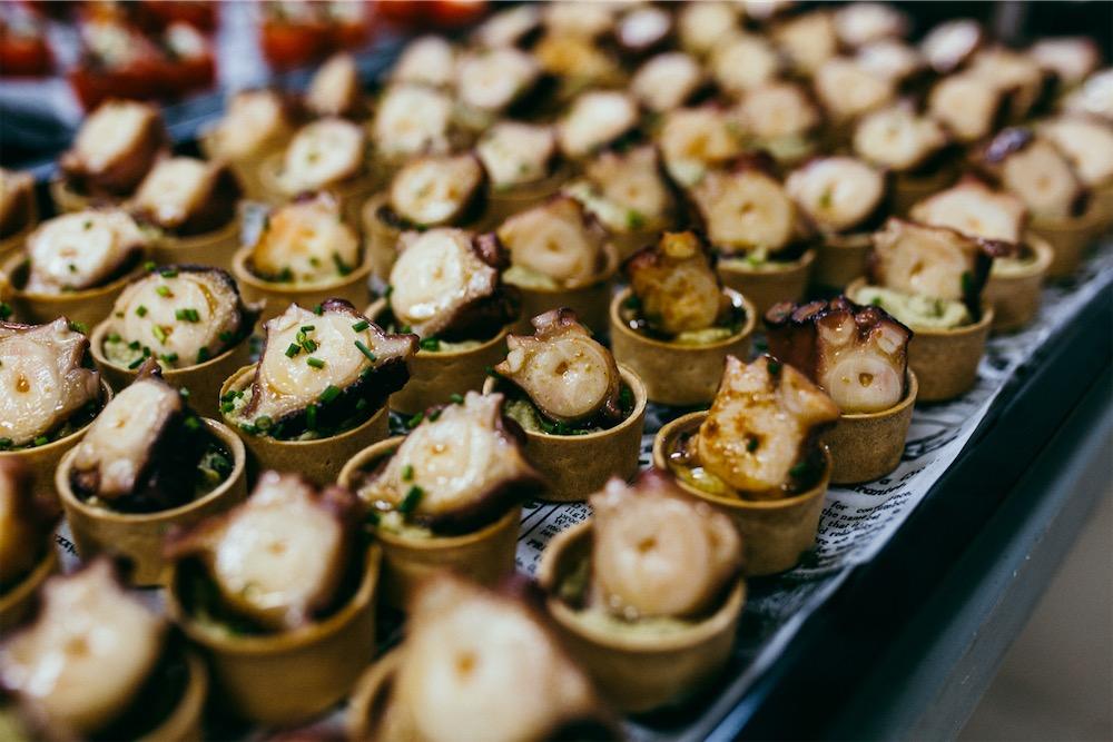 Gastronomía para eventos