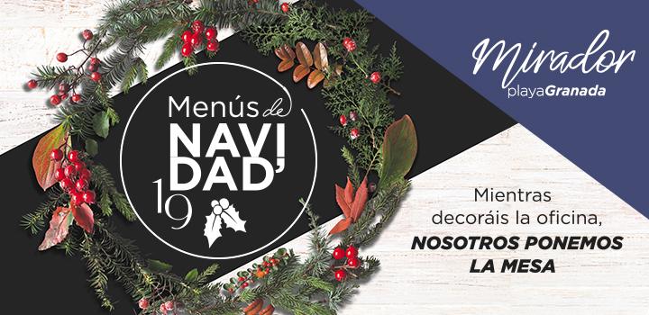 Promoción menús de navidad en Mirador Playa Granada (Motril)